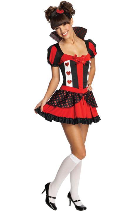 tween costumes purecostumescom playful queen of hearts tween costume purecostumes com
