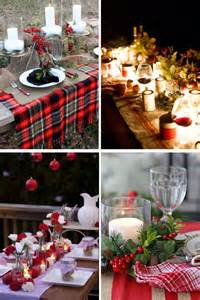 christmas table decor shades of cinnamon