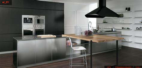 What To Do With The Space Above Kitchen Cabinets by Stainless Steel Kitchen Designs Gawe Omah Design