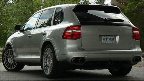 porsche cayenne turbo  review editors review car