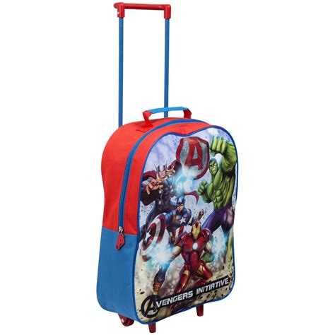 Travel Bag Kanvas Frozen And Friends wheeled trolley luggage travel bags disney frozen more