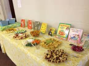 story book themed baby shower food baby shower