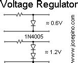 silicon diode cutoff voltage diode circuits jose pino s projects and tidbits