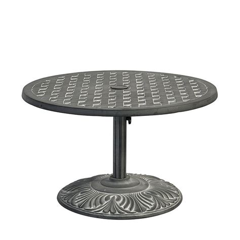 outdoor side table with umbrella maison umbrella side table ballard designs