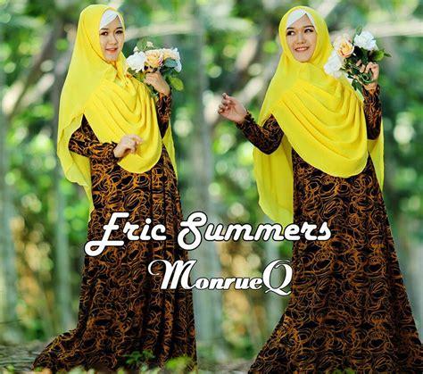 Setelan Naifa 18 By Baenetta monrueq yellow baju muslim gamis modern