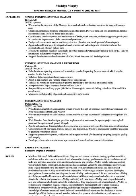 it analyst resume business analyst resume sample monster 2