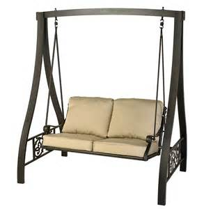 Patio Swing With Frame St Augustine A Frame Swing