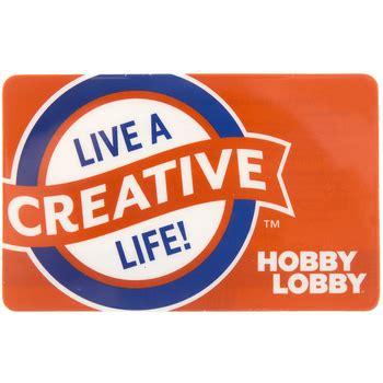 Who Sells Hobby Lobby Gift Cards - hobby lobby gift card hobby lobby