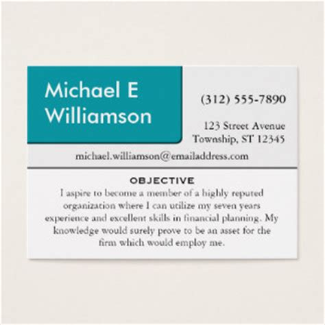 resume business cards 105 search business cards and search business