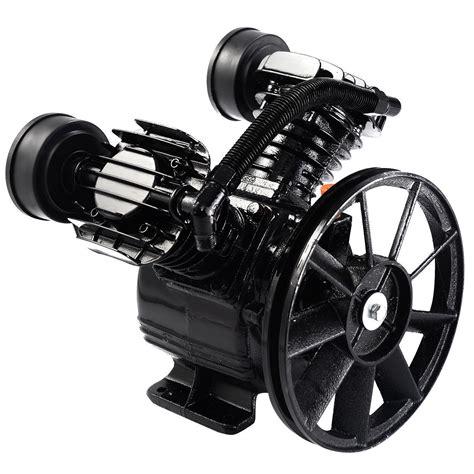 3hp 2 piston v style cylinder air compressor motor air tool ebay
