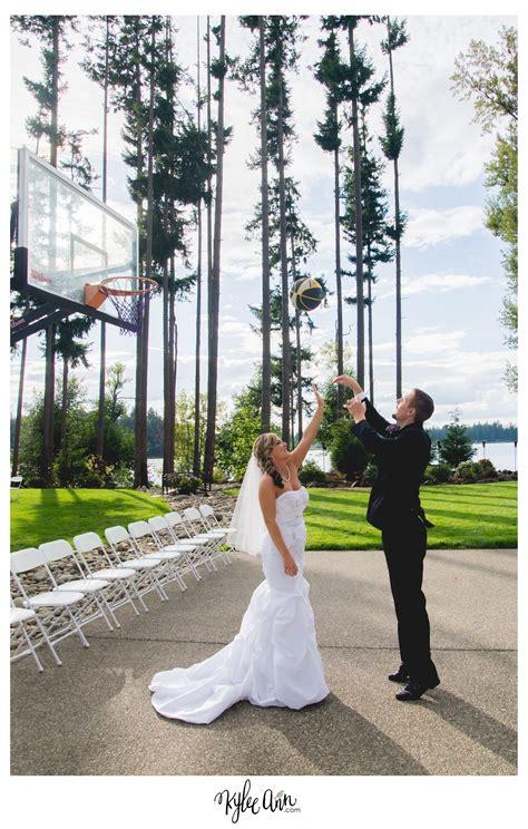basketball themed wedding savanna brandt kylee studios logan utah wedding