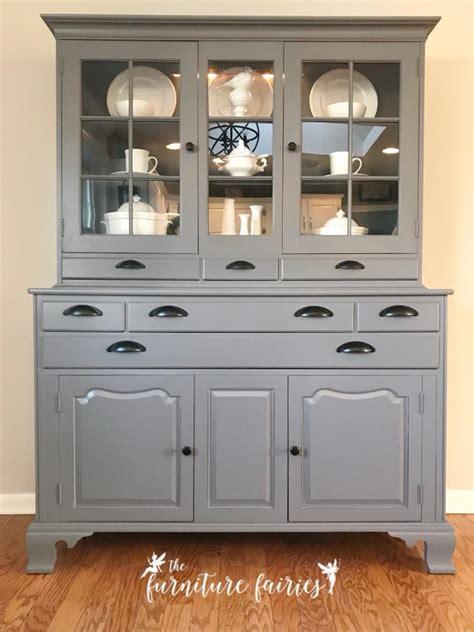 buffet  driftwood queenstown gray milk paint general finishes design center