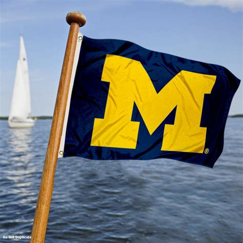 michigan state university boat flag university of michigan um boat and golf cart flag ebay