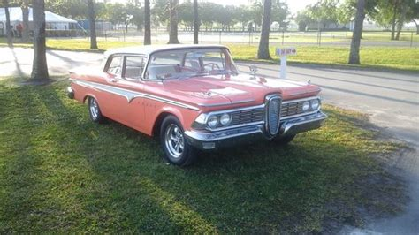 Edsel Ford Car For Sale by Ford Edsel For Sale Classic Edsels Collector Car Ads