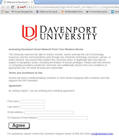 Davenport Mba Tuition by Windows 7 Vista Guest Wifi Davenport