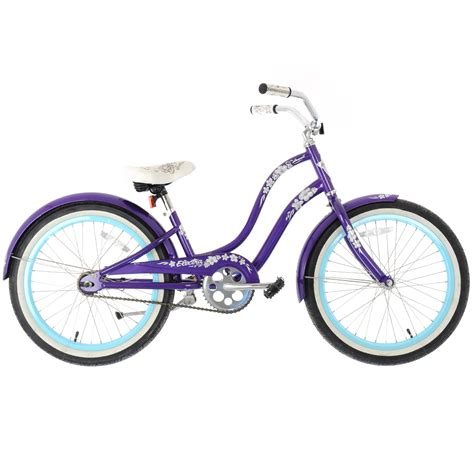 electra beach cruiser bikes electra hawaii 20 quot kids girls beach cruiser bike purple