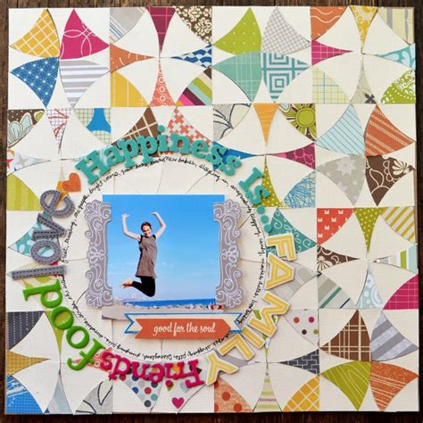scrapbook quilt layout 17 best images about scrapbook layouts ideas on