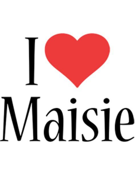 maisie logo  logo generator  love love heart