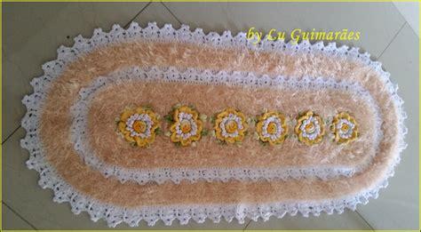 tapete de croche bico duplo elo7 pictures to pin on pinterest tapete oval bico duplo decore artesanato com amor by