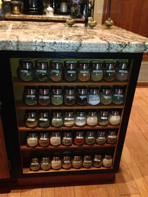 Customizable Spice Rack custom spice rack for gourmet chefs ghost spice racks chefs and spices