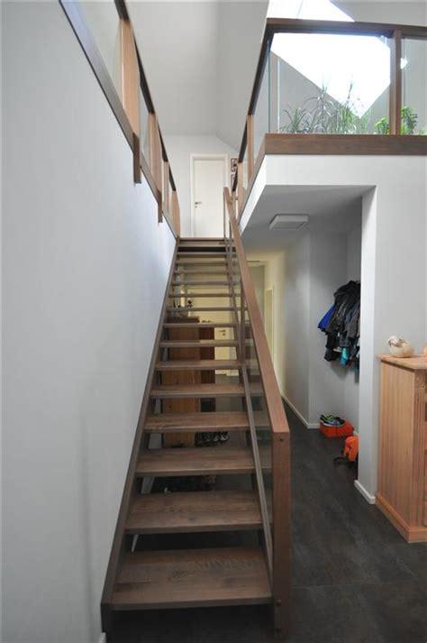 beleuchtung außentreppe grau treppe design