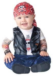 Halloween Costumes For Baby Boy Baby Born To Be Wild Biker Costume