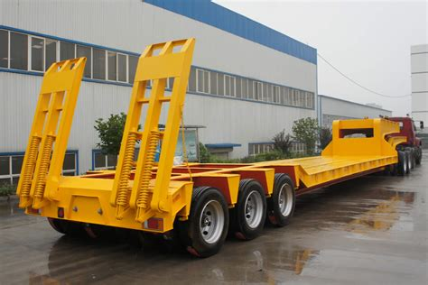 low bed trailer lowbed trailers lowboy trailers china sinotrailers