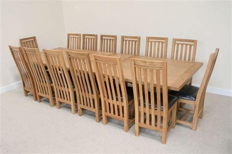 large  seat rustic oak wood dining table  american