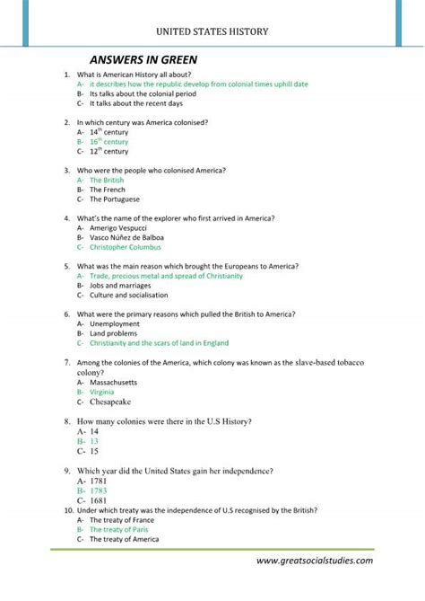 The Constitution Of The United States Worksheet by History Of United States History Worksheets United