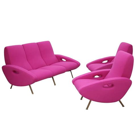Sofa Armchair Set by Ultra Documented Sofa And Armchair Set By Maurice