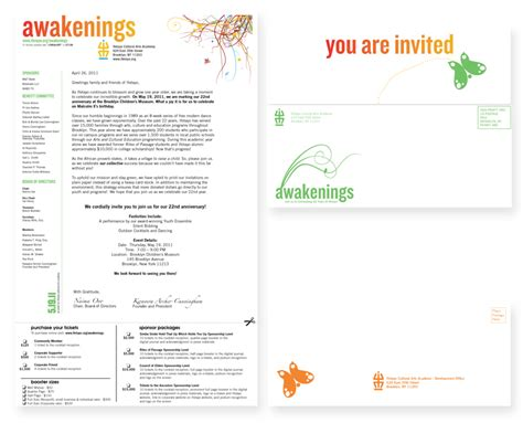 Invitation Letter Format For Cultural Event Ifetayo Awakenings Event Branding Ashay Media