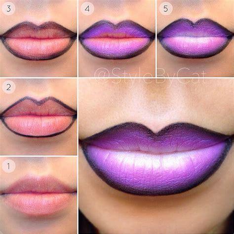 ombre lip tutorial ombre lips tutorials trusper