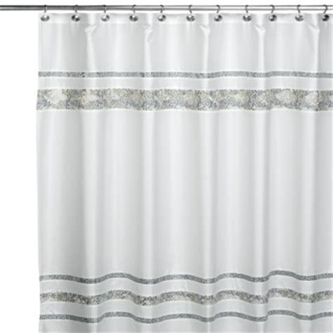 spa like shower curtains buy croscill 174 spa tile 72 inch x 96 inch shower curtain