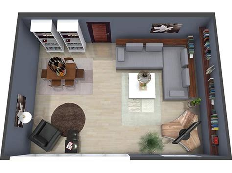 Modern Master Bedroom by Floor Plans Roomsketcher