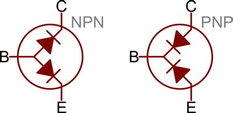 transistor pnp symbol transistors learn sparkfun