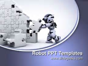 Robot Powerpoint Template by Robot Ppt Templates