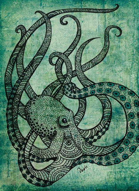 octopus badezimmer cephalochordate beautiful kraken