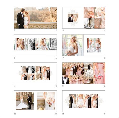 Wedding Album Template by Wedding Album Template 41 Free Psd Vector Eps Format
