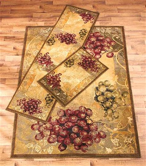 Vineyard Kitchen Rugs Themed Decorative Rug Collections Ltd Commodities