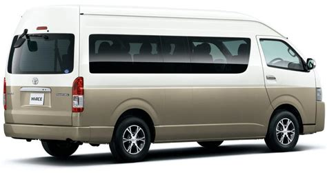 new toyota hiace wagon photo hiace grand cabin picture