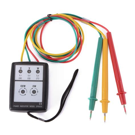 Kyoritsu 8030 Phase Checker Indicator 200v 480v Ac Indikator Asli leds sequence meter 3 phase rotation indicator detector tester with buzzer bi459 ebay