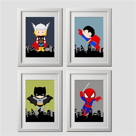 Etsy Wall - decorating baby room with superman theme image baby