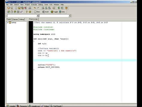 librerie informatica guida informatica dev c lezione 1 primo programma