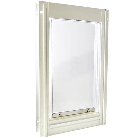 Large Pet Door by Deluxe Aluminium Pet Door Large