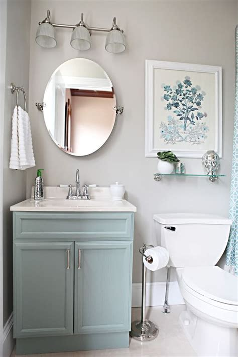 light blue vanity light gray walls pictures photos and images for