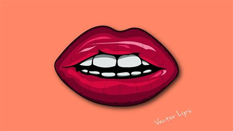 tutorial vector logo illustrator illustrator tutorial vector logo design lips youtube