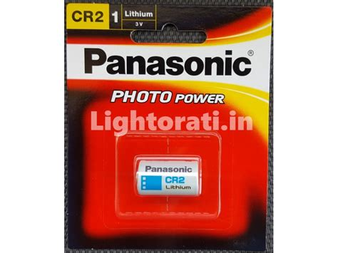 Panasonic Cr2 Original Battery Non Rechargeable panasonic cr2 3v lithium non rechargeable battery cr2