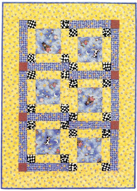Childrens Quilt Patterns Free by A Simple Baby Quilt Pattern Free Stitch This The