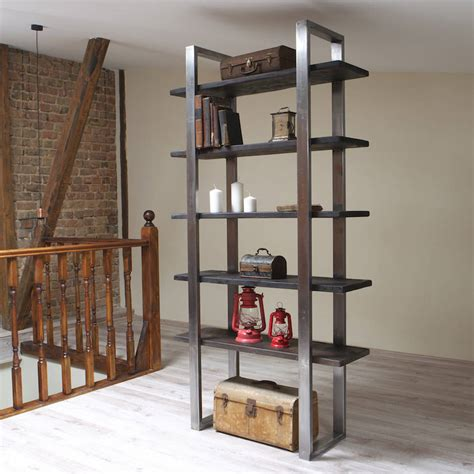 industrial style industrial style freestanding shelving unit by cosywood