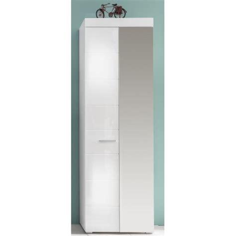 Hallway Wardrobes by Amanda Hallway Wardrobe In White Gloss Finish With
